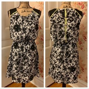 Maurice's Black and White Floral Dress